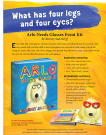 Arlo Needs Glasses Event Kit