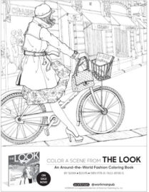 Bookstore Coloring Page Kit