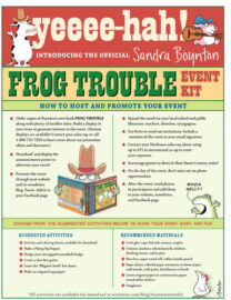 Frog Trouble Event Kit
