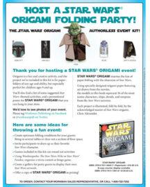 Star Wars Origami Kit