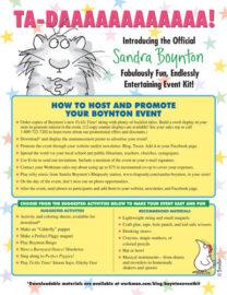 The Official Sandra Boynton Event Kit