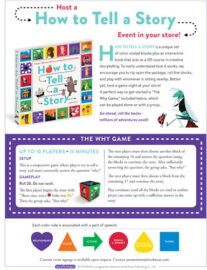 Host A How to Tell a Story Event in your store!