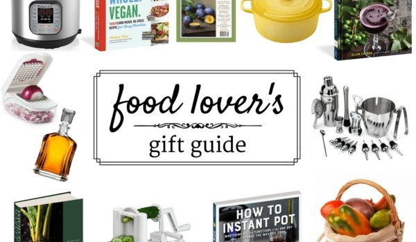 Food Lover's Gift Guide + Giveaway thumb